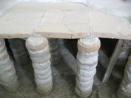 Армения -Гарни -римские бани ,включались в дворцовый комплекс, построенный царем Трдатом для своей сестры Хосровадухт