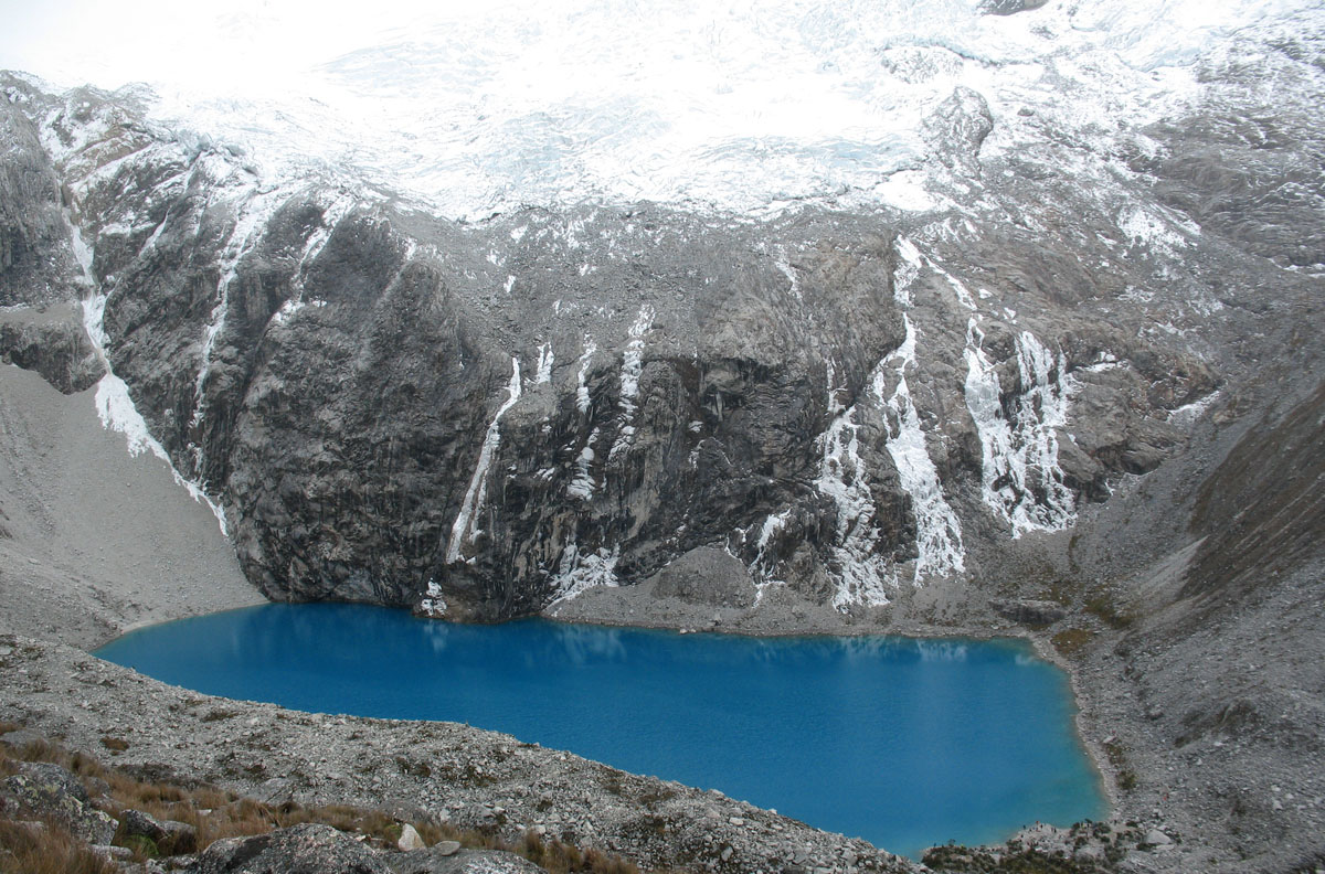 Перу, Cordillera Blanca, озеро Laguna 69