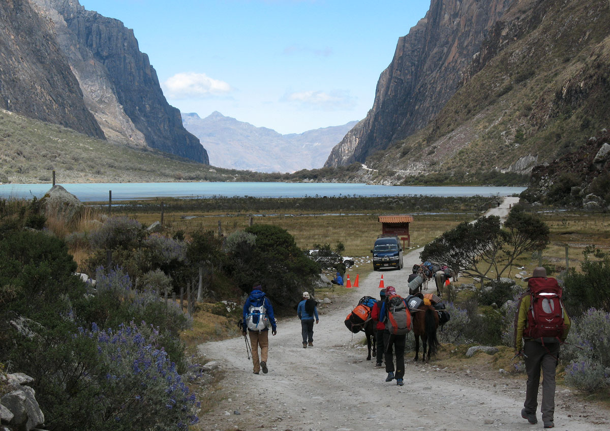 Перу, Cordillera Blanca, Cebollapampa