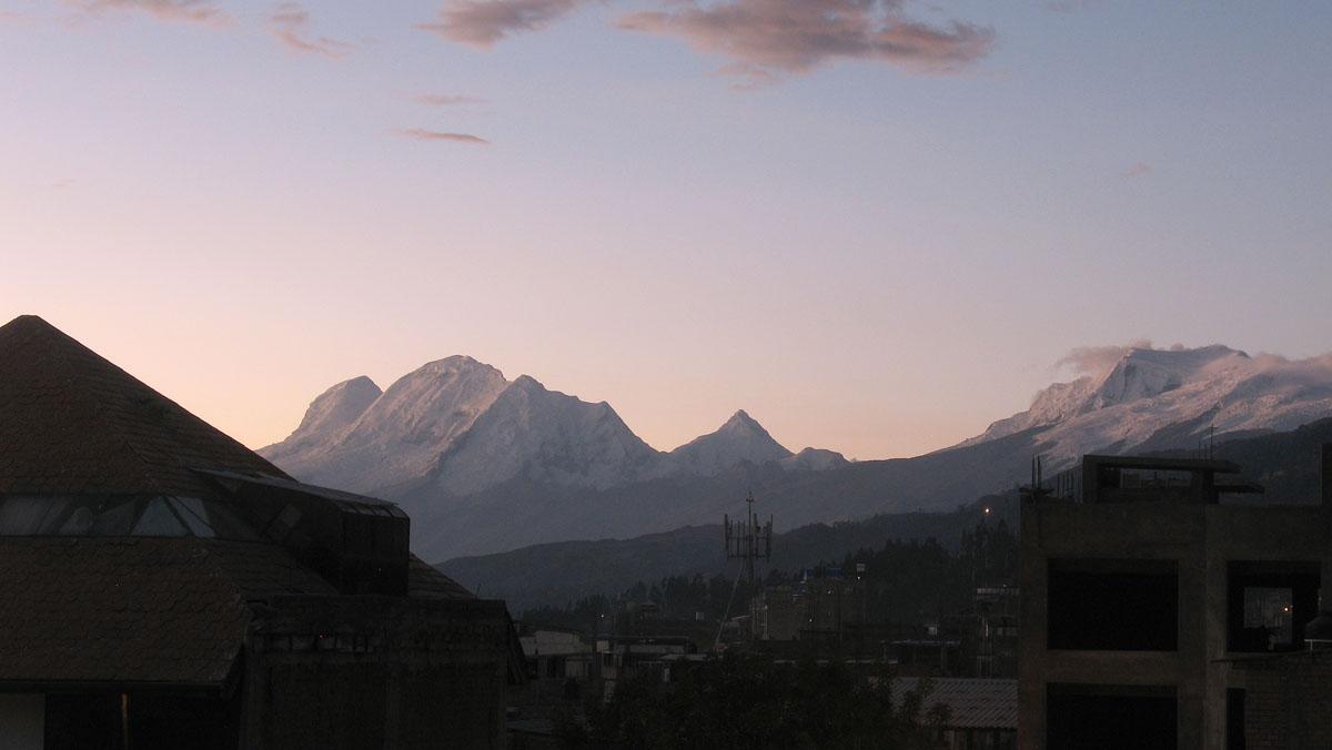 Перу, Cordillera Blanca, Уаскаран Huascarán