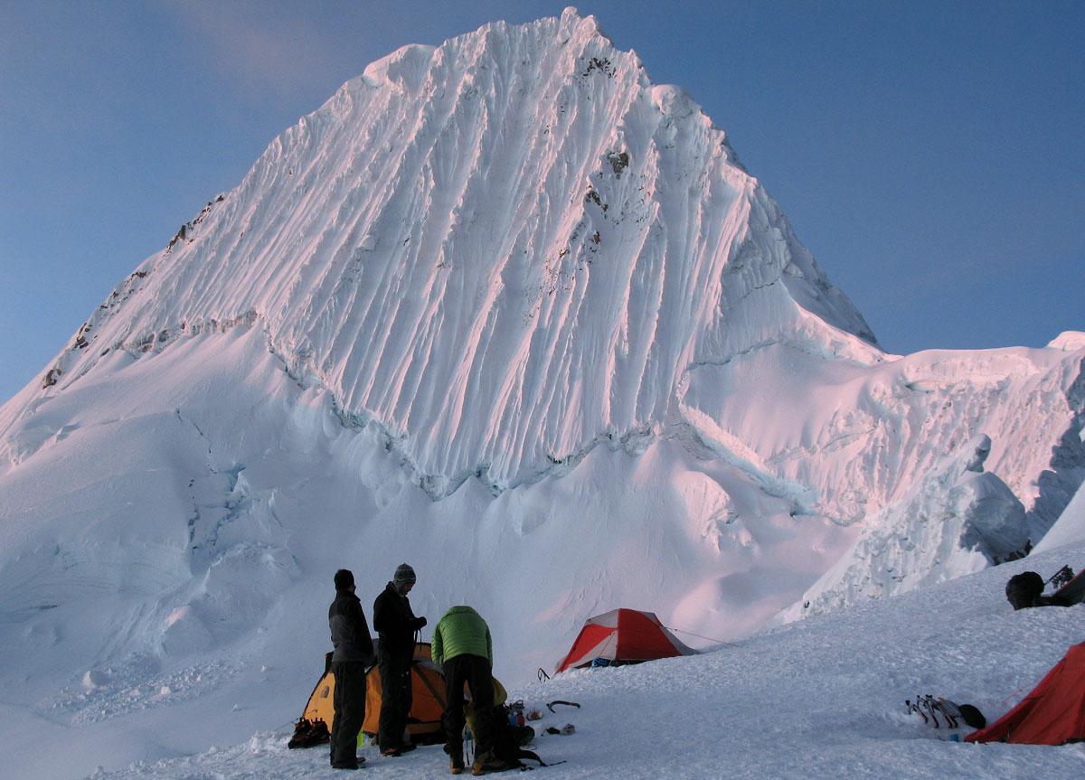 Перу, Cordillera Blanca, Альпамайо Alpamayo