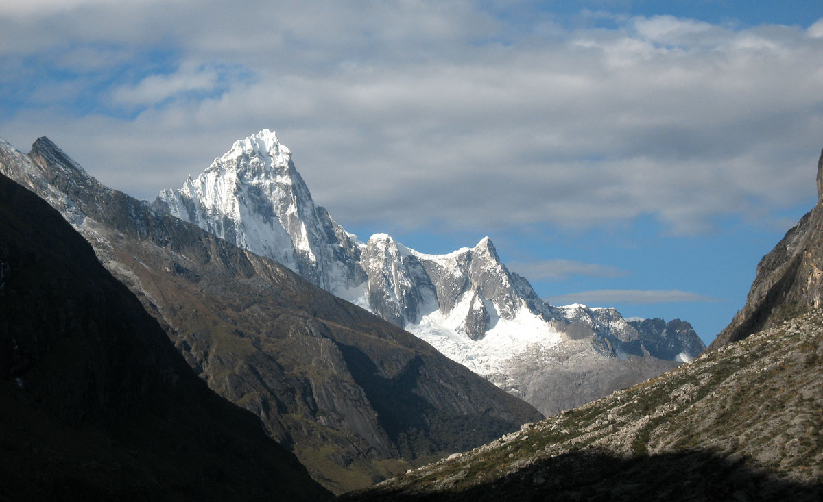 Перу, Cordillera Blanca, вершина Тауллираху