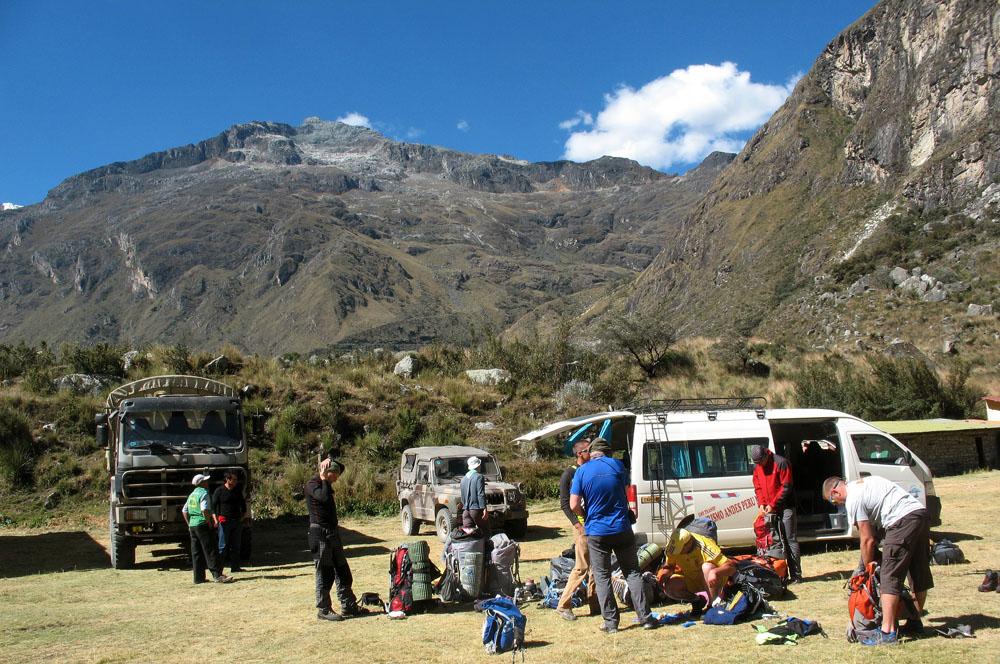 Перу, Cordillera Blanca, восхождение на Pisco. Cebollapampa