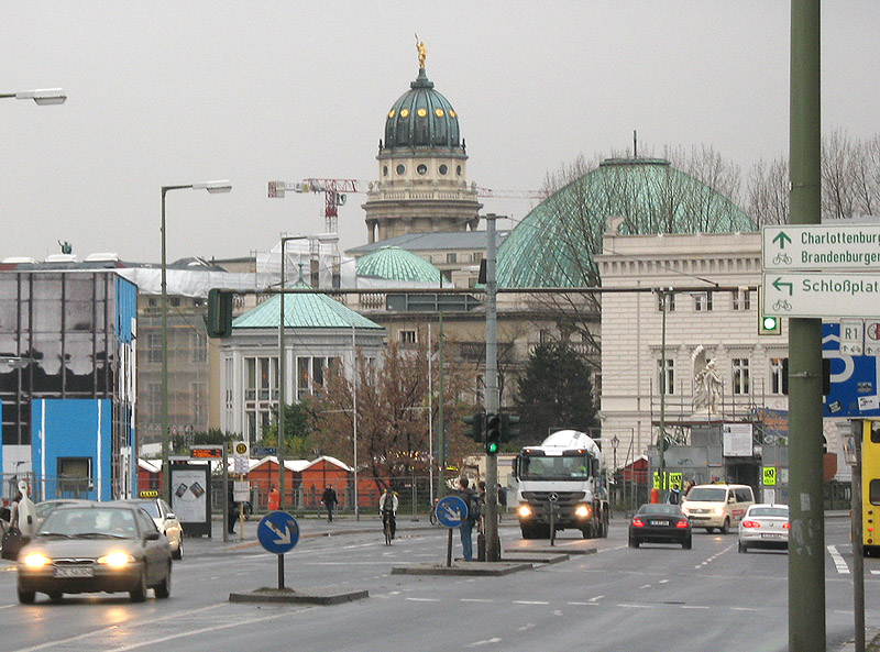 Начало Unter den Linden
