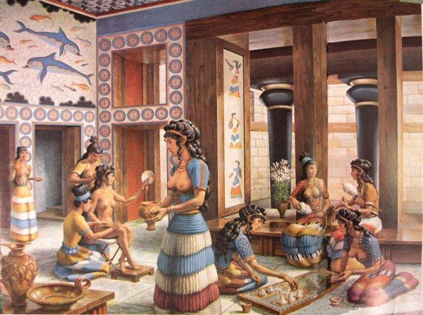 рис-Minoan_palace_scene_enlarged