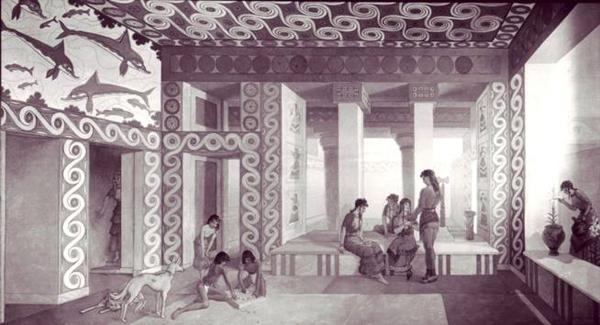 макет-Кносский-дворец-Миноса-на-Крите