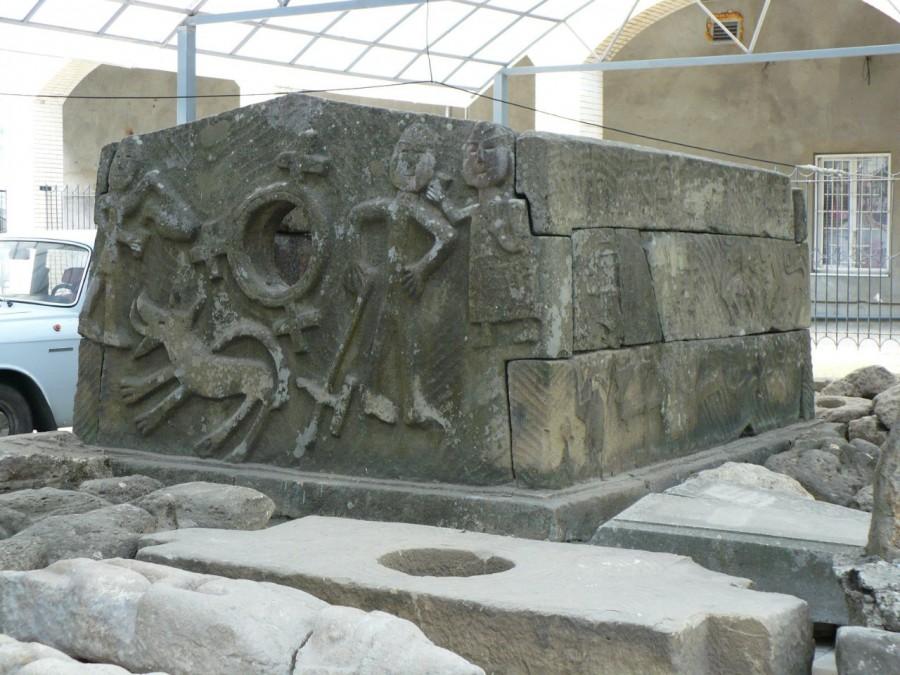 дольмен с Кяфарского городища