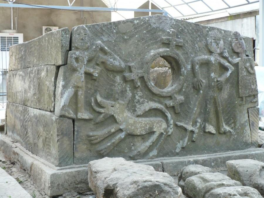 дольмен с Кяфарского городища 2
