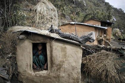 menstruation hut