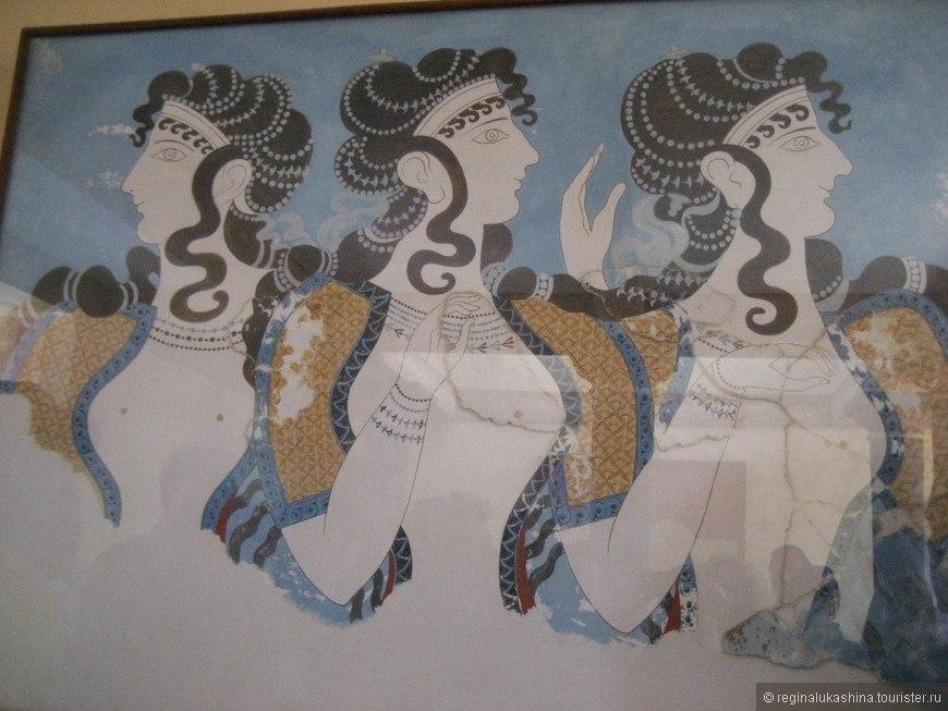 минойские женщины
