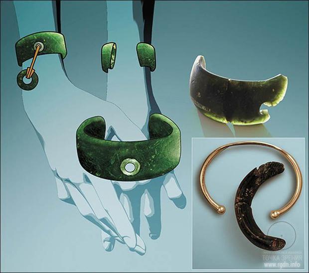 Уникальный браслет возрастом 40 000 лет.