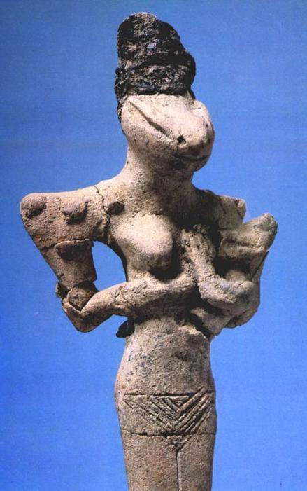 богиня птица