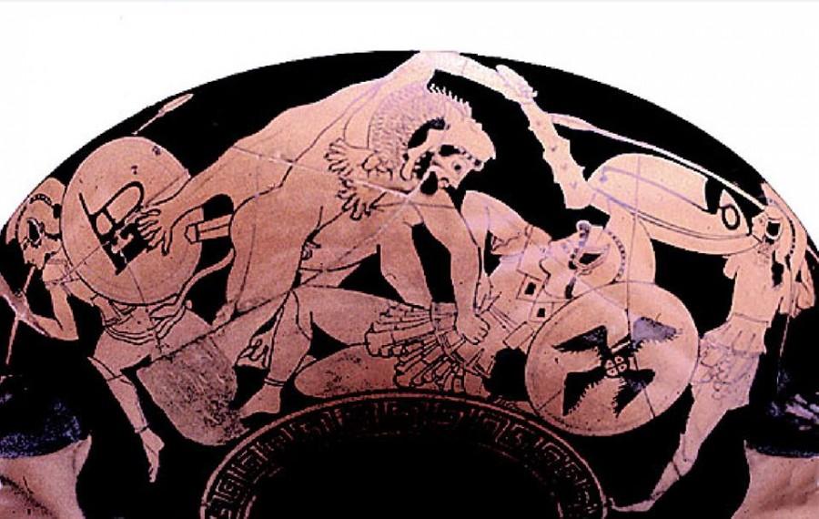 Геракл и амазонки.