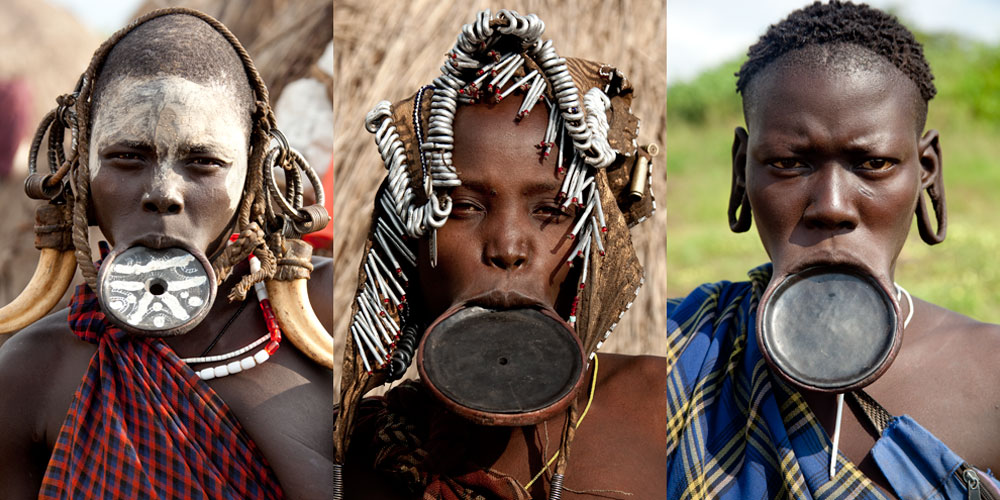 Племя Мурси, Эфиопия