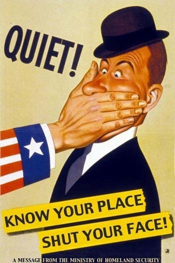 Американский плакат времён Холодной войны