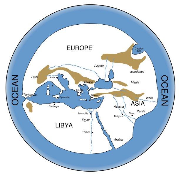 Представления об ойкумене у древних греков