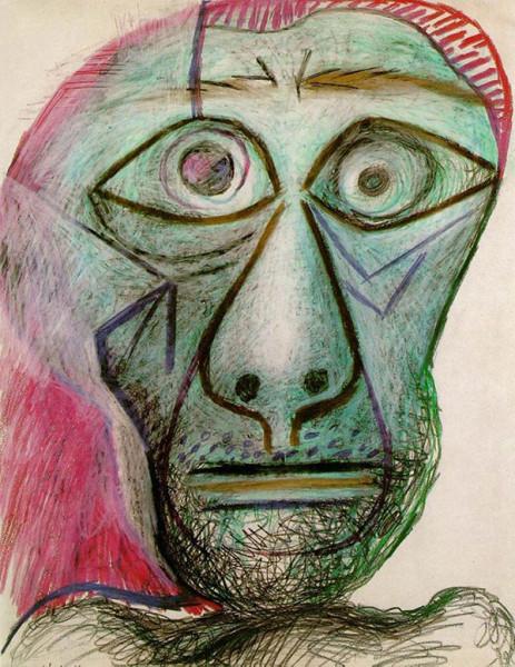 Автопортрет Пикассо.