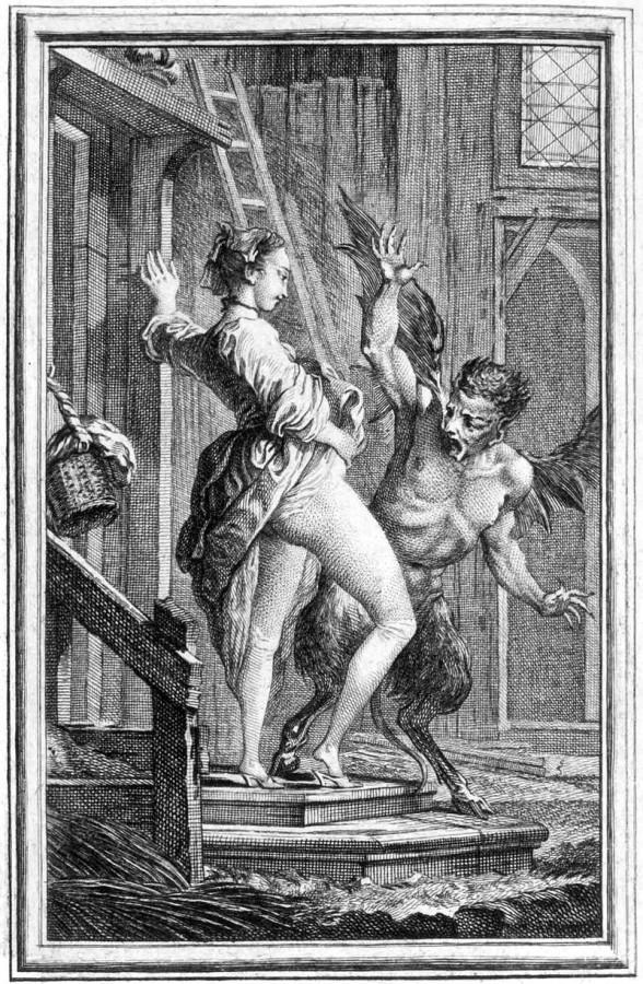 спор крестьянина с дьяволом