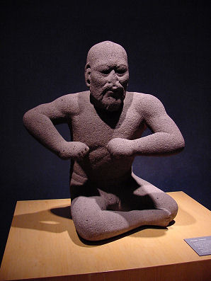 The_Wrestler_(Olmec)_by_DeLange
