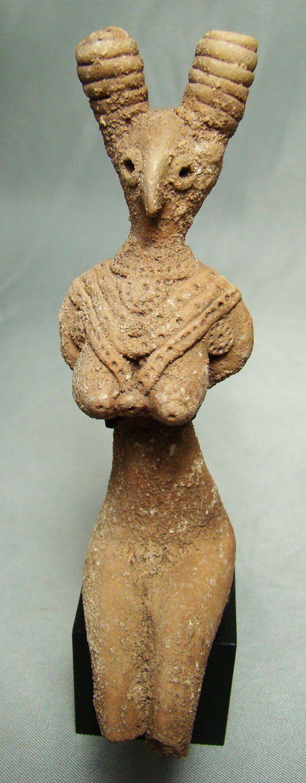 Goddess Figure from Mohenjo-Daro