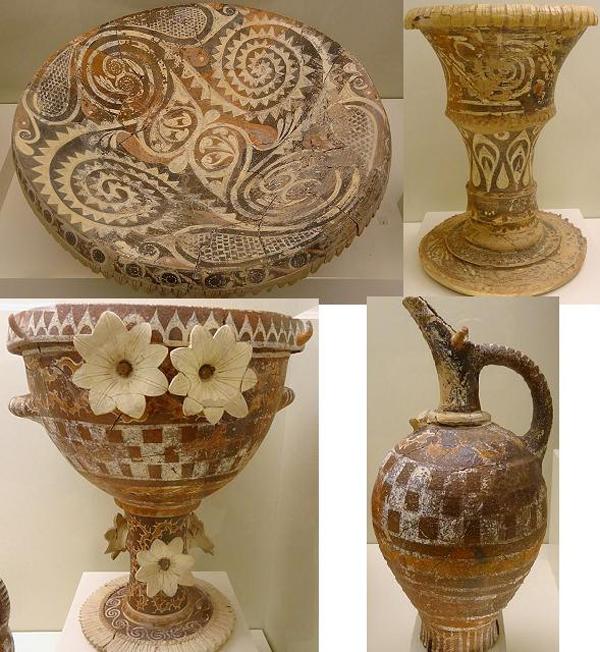 1300-г..-до-н.э-вазы-Расцвет-минойской-керамики-стиля.-камарес.