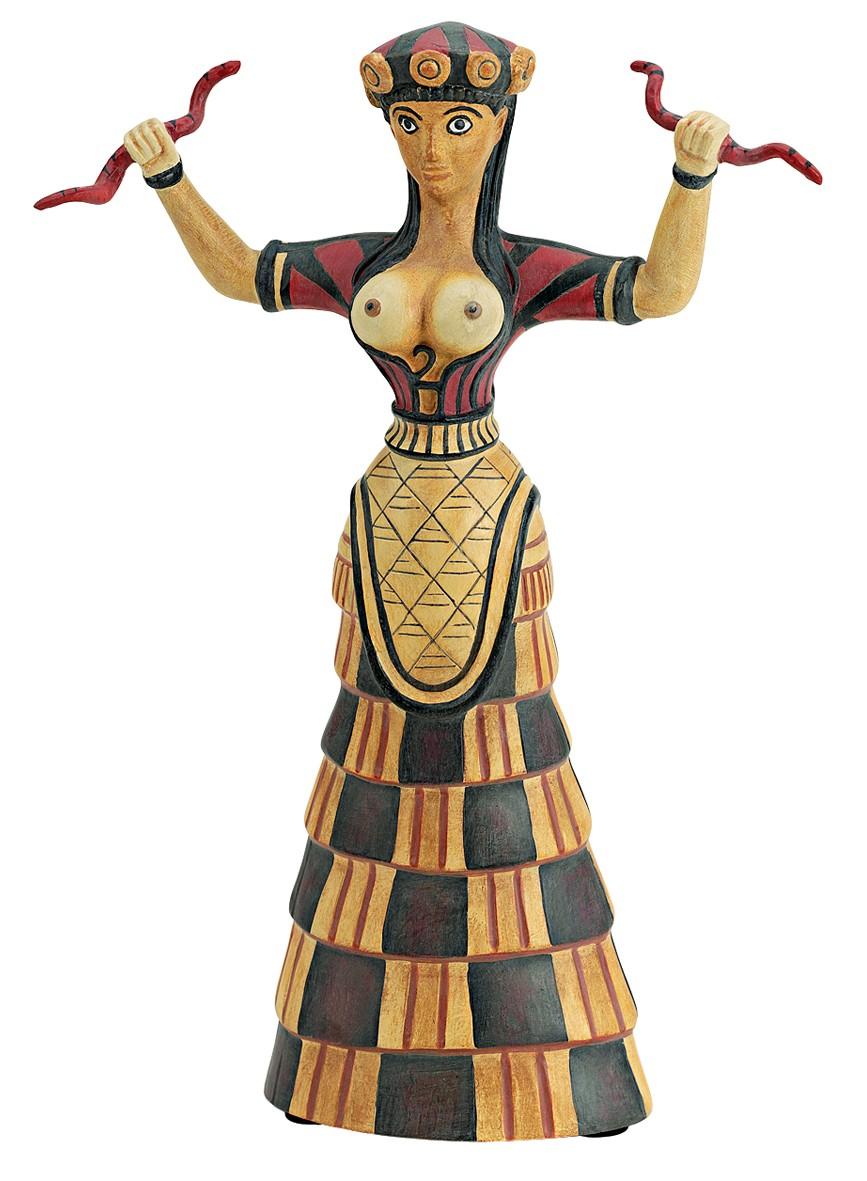 богиня со змеями 2
