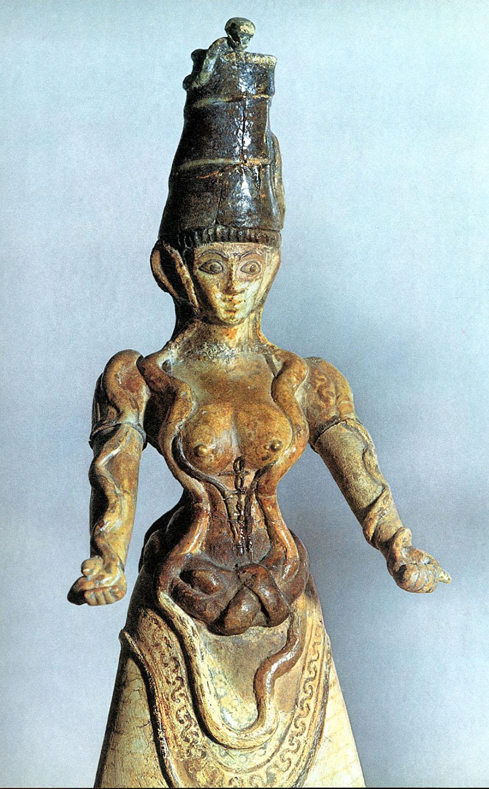 богиня со змеями 3