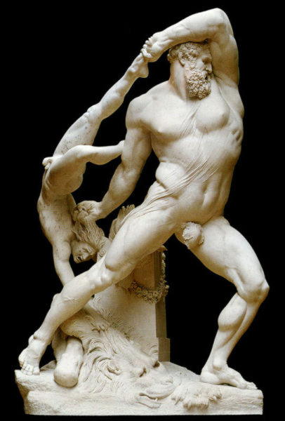 Геракл убивает Лихаса