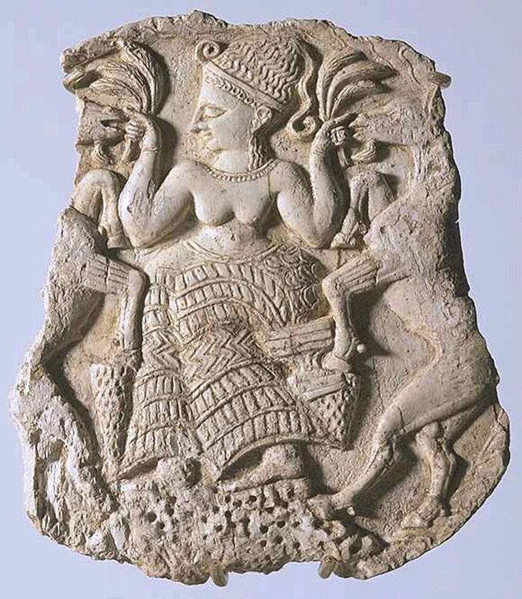 Богиня плодородия из Угарита