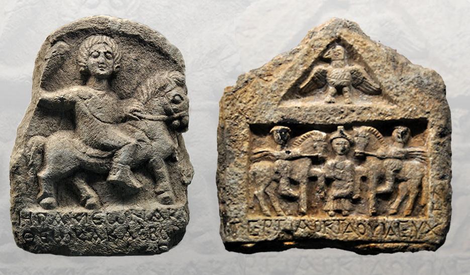 Изображения первых веков н.э. из музея в Анталии.