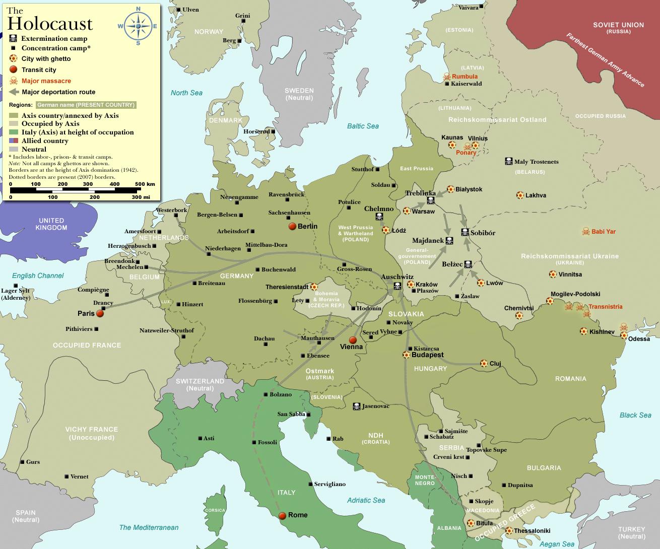 WW2-Holocaust-Europe