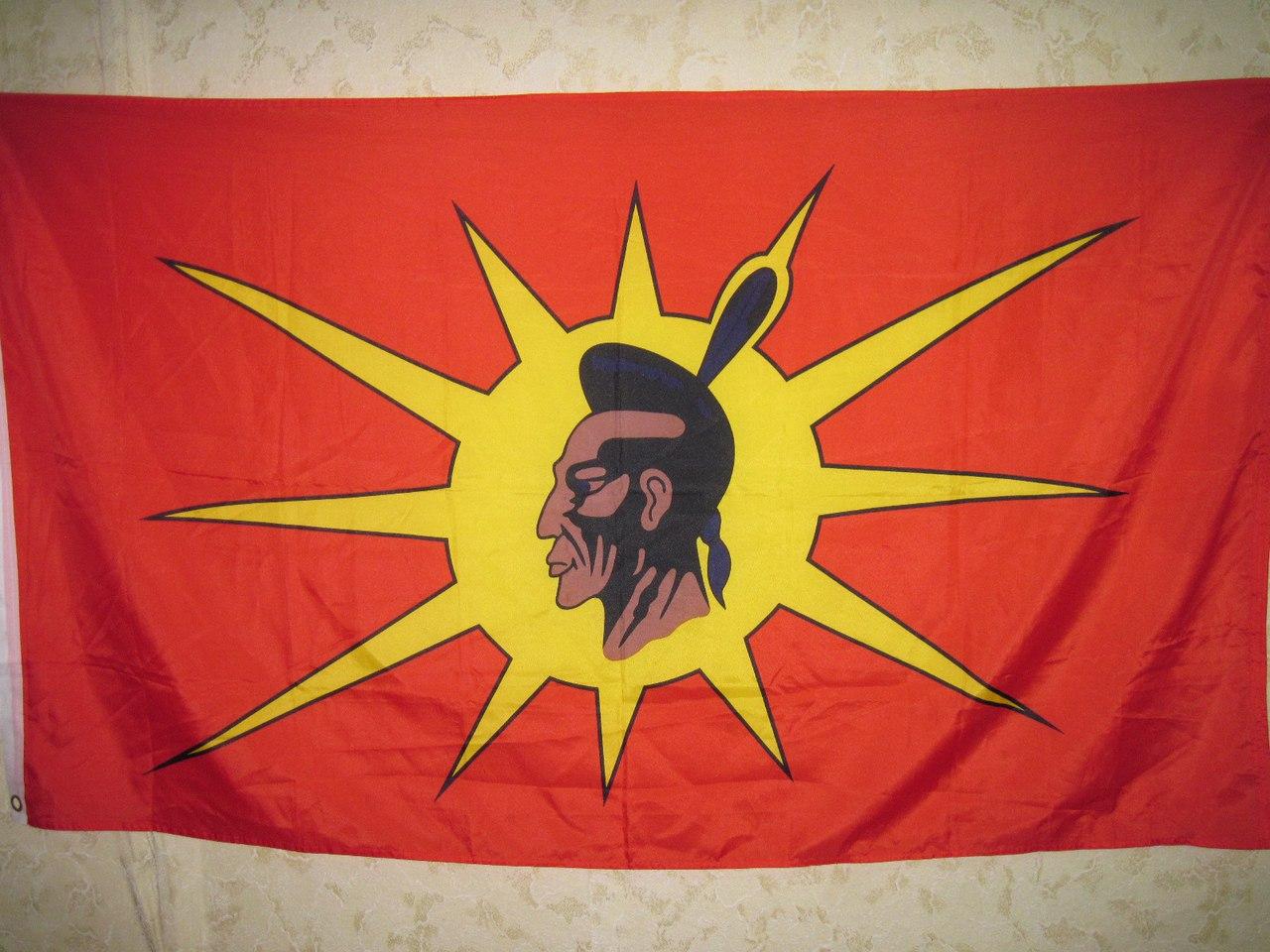 Знамя миги ирокезов