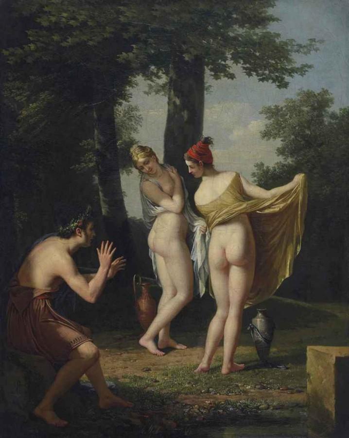 Робер Жак Франсуа Лефевр. Греческие Каллипиги. 1802-й год.