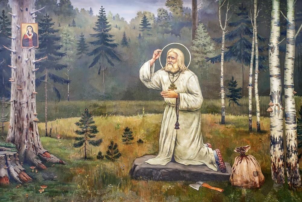 св. Серафим Саровский 2
