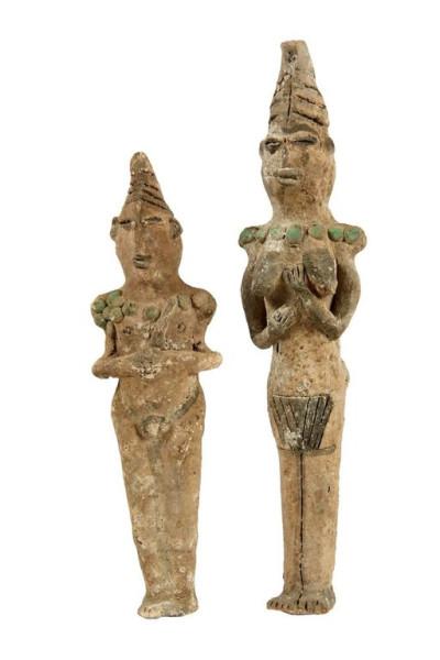 статуэтки из захоронения в Эриду