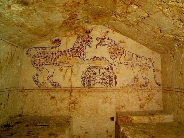Гробница Пантер, VII в. до н.э