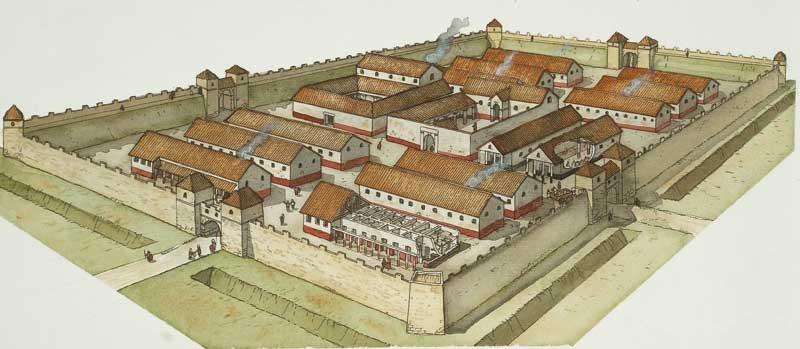 castrum-romano