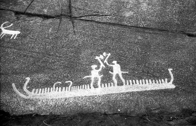 петроглиф из Швеции