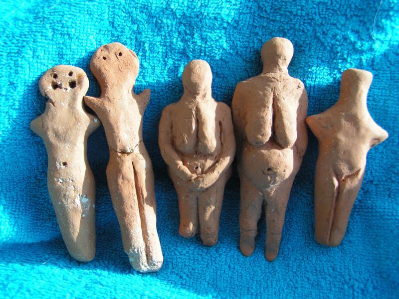 трипольские статуэтки