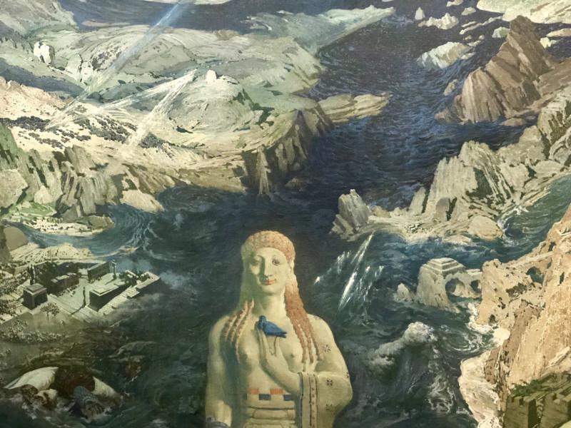 леон бакст - древний ужас (1908) .