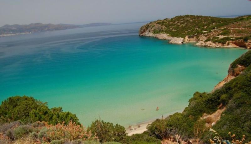 Крит, залив Мирабелла.