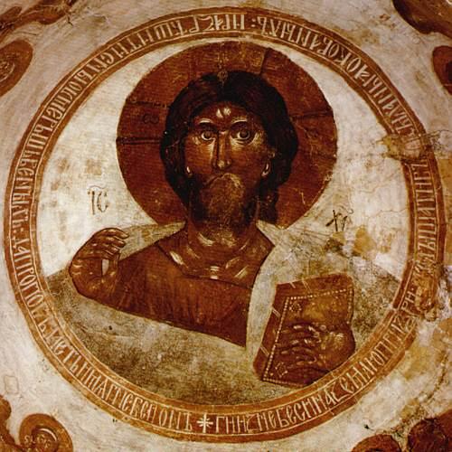Spas_na_Ilyine_-_Christ_Pantocrator