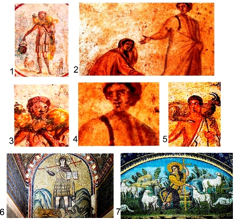 древние изображения Иисуса Христа