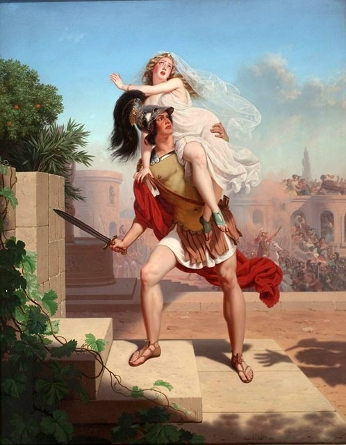 Charles_Christian_Nahl_1870,_The_Rape_Of_The_Sabines_-_The_Abduction
