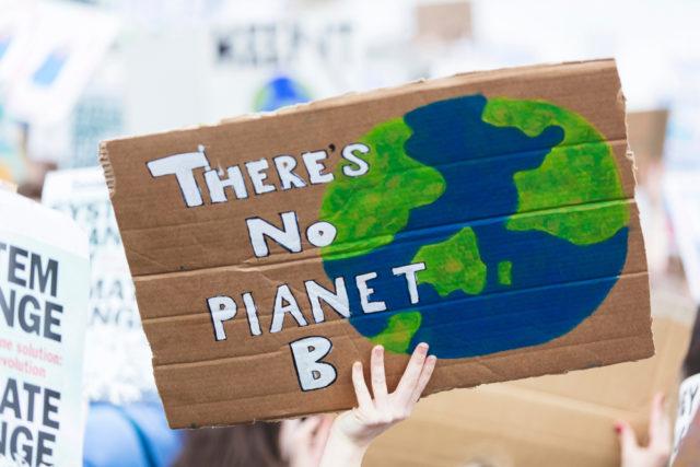 у нас нет запасной планеты