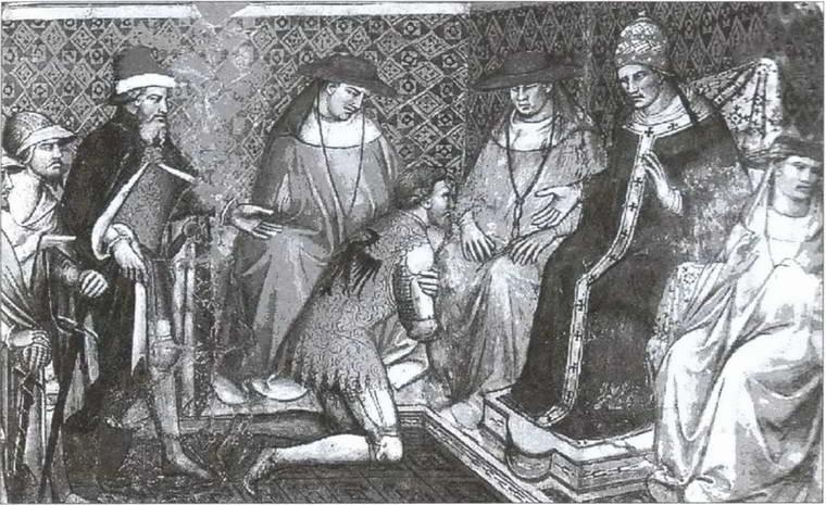 Император Генрих IV в Каноссе.