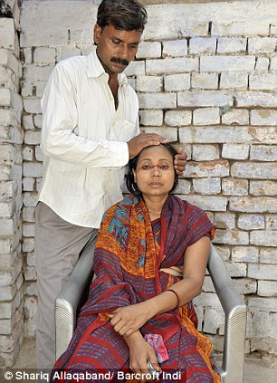 Рашида Бегум с мужем