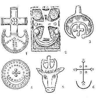 полумесяц и крест