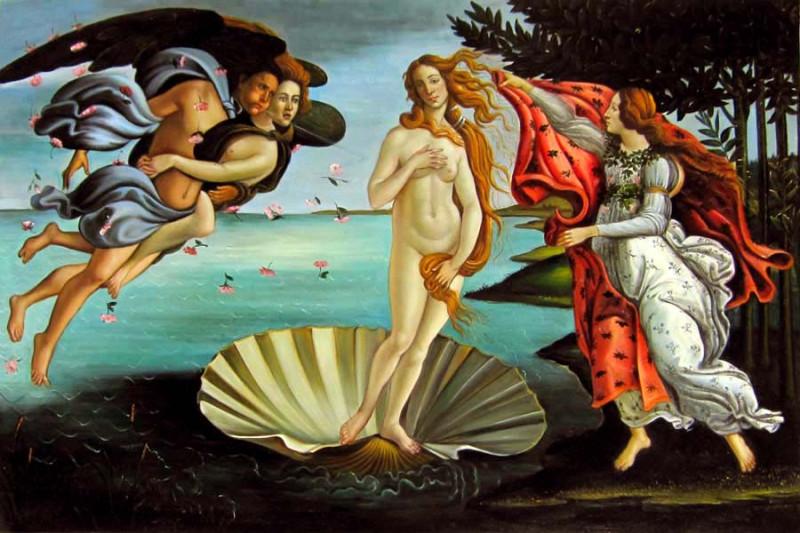 Рождение Венеры картина Сандро Боттичелли