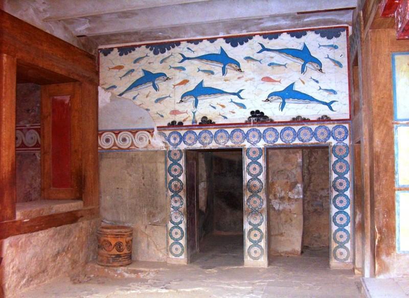 дельфины кносского Лабиринта